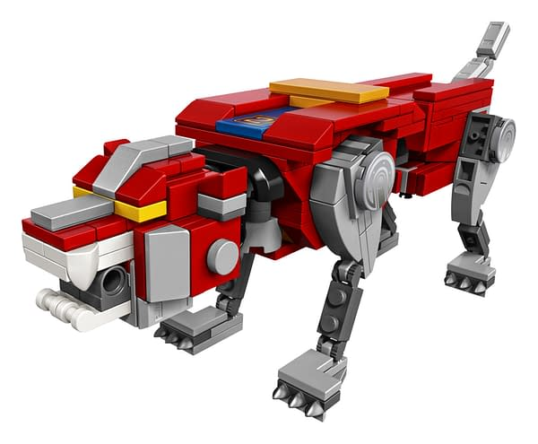 LEGO Ideas Voltron Set 14