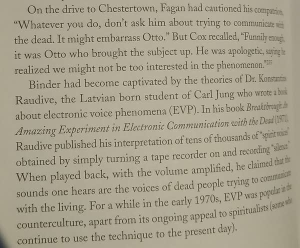 The Real Story Of The Seance Tape From Rorschach