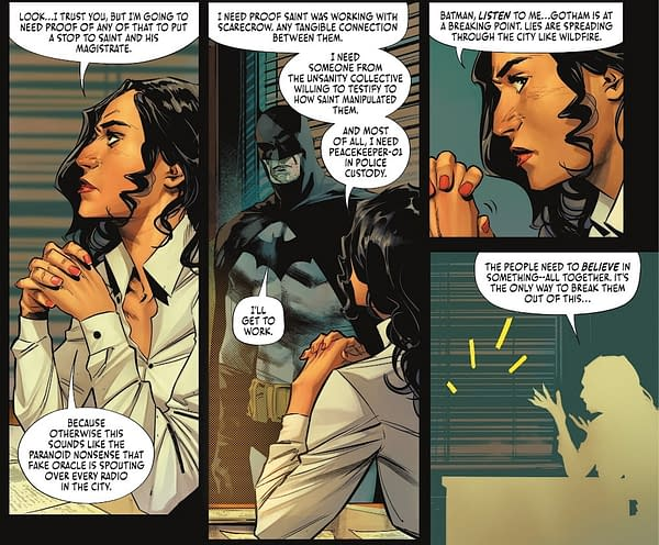 How Batman Talks To The Governments Of The World (Spoilers)