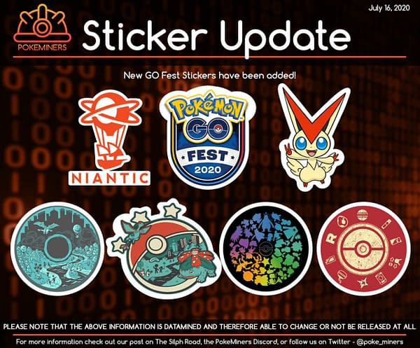 GO Fest 2020 items. Credit: Silph Road's Pokeminers.
