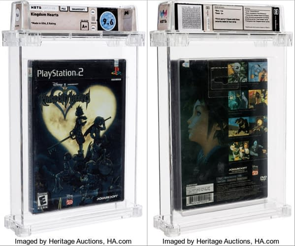 Snag a sealed copy of Kingdom Hearts for GameCube is up for auction at Heritage Auctions now.
