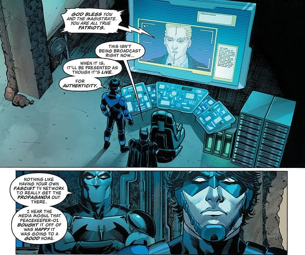 Fox News And The Fox Family In DC Comics' Future State (Spoilers)
