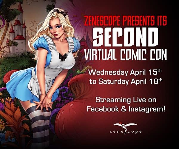 Zenescope announces a Virtual Comic Con.