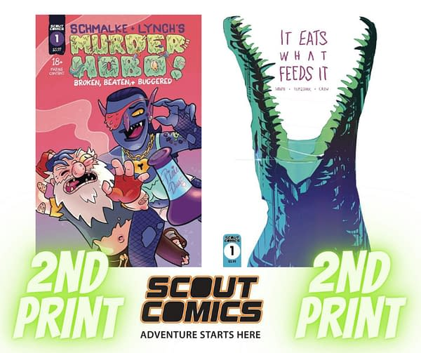Scout Comics sell out, and will other publishers look to Kickstarter to copy their success? Credit: Scout Comics.