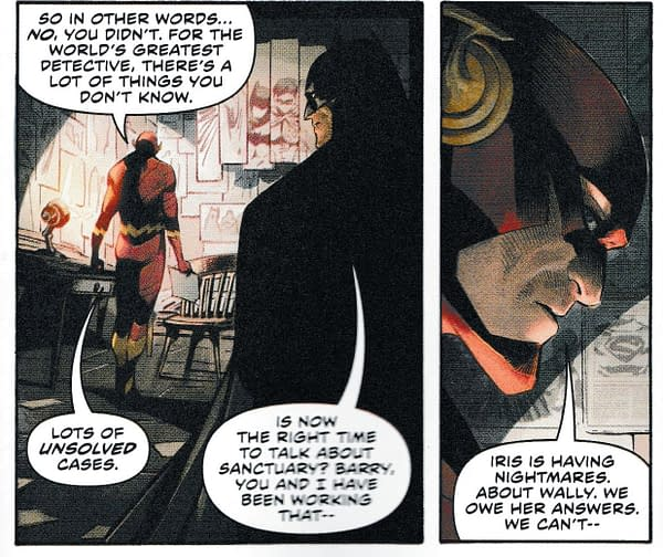 Does No One Tell Barry Allen Anything? Flash #64 Has Some Home Truths