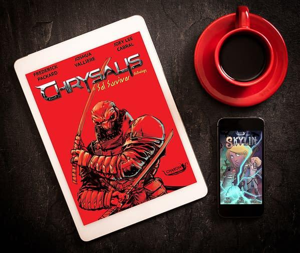 Coffee, Pizza And Comic Books