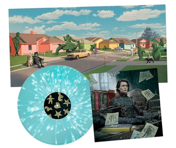 Edward Scissorhands Vinyl Release Available Now From Waxwork Records