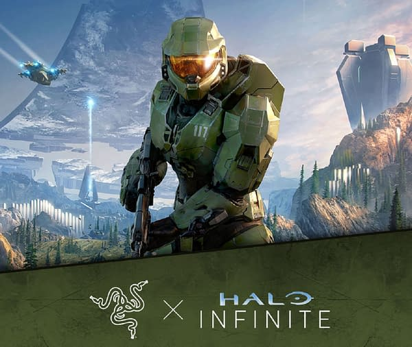 Soon you'll have your own Halo Infinite gear from Razer to play the game with, courtesy of 343 Industries.