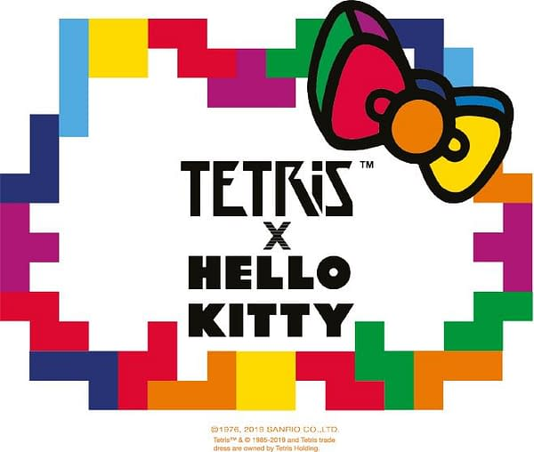 The Tetris Company Announce New Collaboration With Hello Kitty