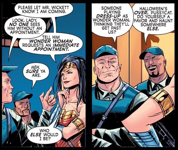When Wonder Woman Gets Mistaken as a Cosplayer