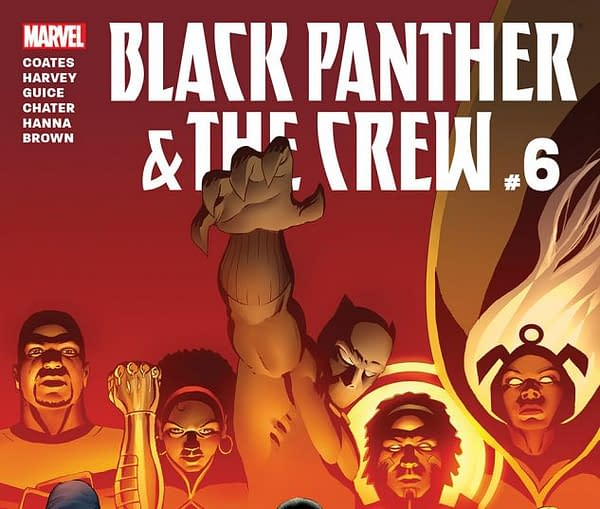 Black Panther And The Crew #6 Review: A Non-Ending To A Series That Deserved Better
