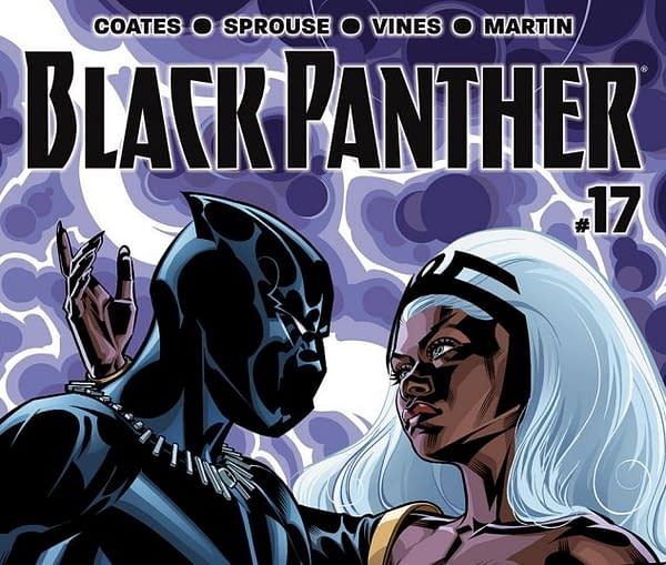 Cover to Black Panther #17