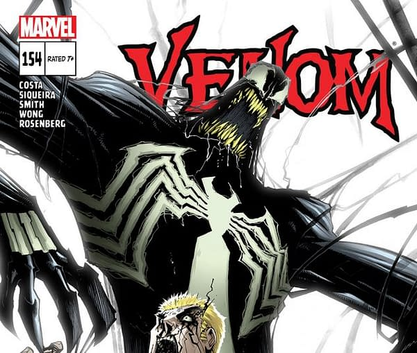Cover to Venom #154 by Gerardo Sandoval
