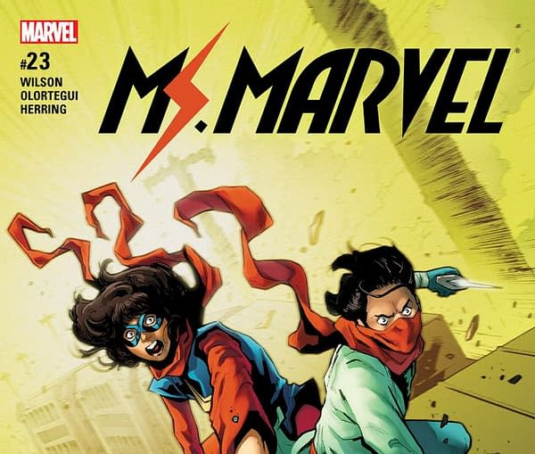 Ms. Marvel #23 Review: Team-Up With Red Dagger