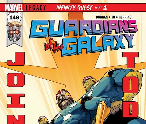 Guardians of the Galaxy #146 cover by Aaron Kuder and Ive Svorcina
