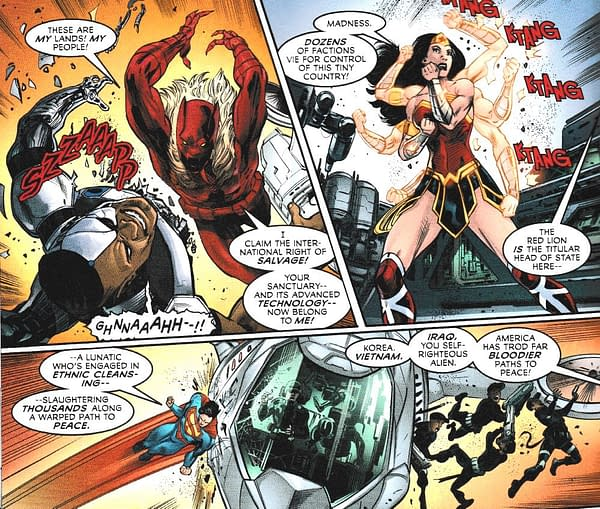 Christopher Priest Writes The Black Panther Vs. The Justice League (SPOILERS)