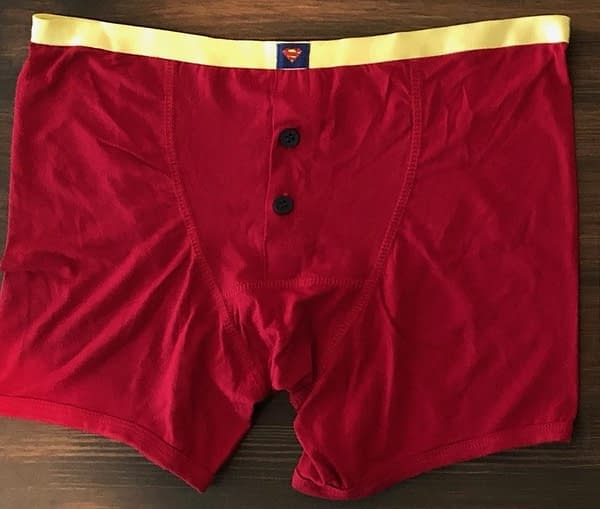 DC Comics Gives Away Superman Red Boxer Shorts and Trunks at #SXSW #TheTrunksAreBack