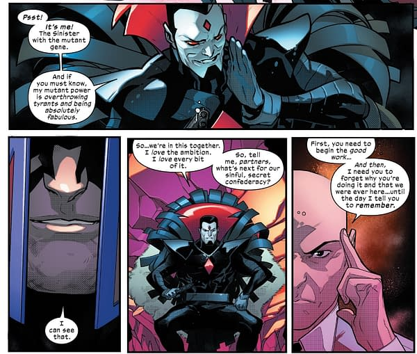 One More Time – Crunching Mister Sinister's Gossip Column in Powers Of X #4