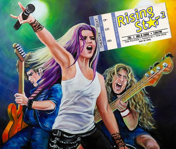 A rockstar is you this summer in Rising Star 2, courtesy of Gilligames.