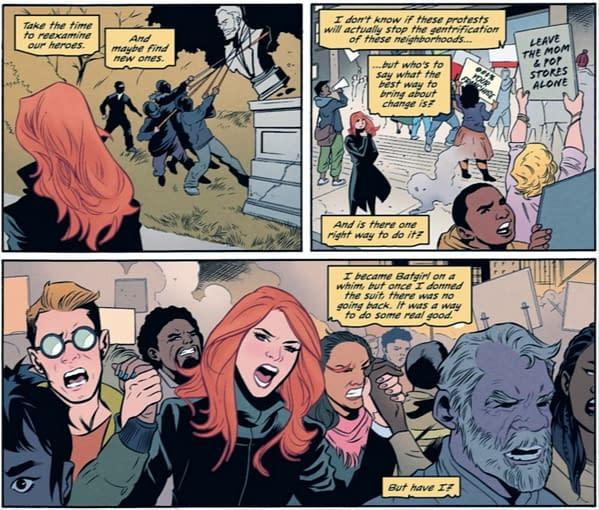 Barbara Gordon Goes Back Into Politics For 2021? (Batgirl #50 Spoilers)