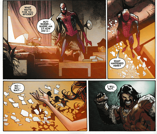 A Worrisome Future for Spider-Man and Mary Jane (Amazing Spider-Man #17 Spoilers)