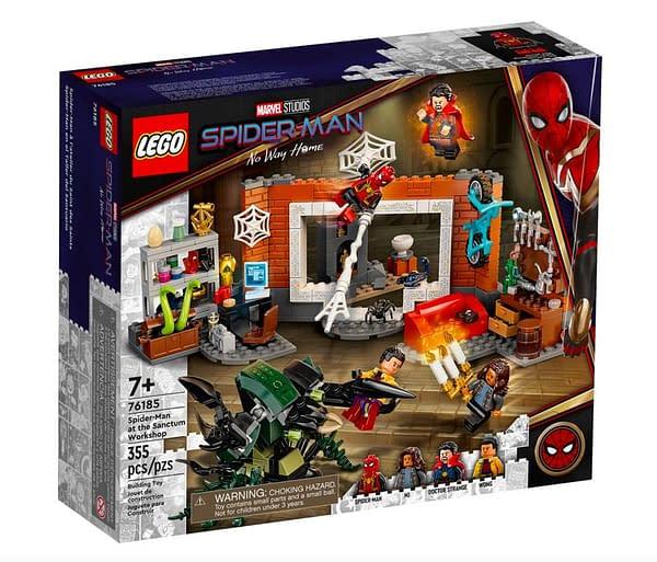 LEGO Reveals First Spider-Man: No Way Home Building Set