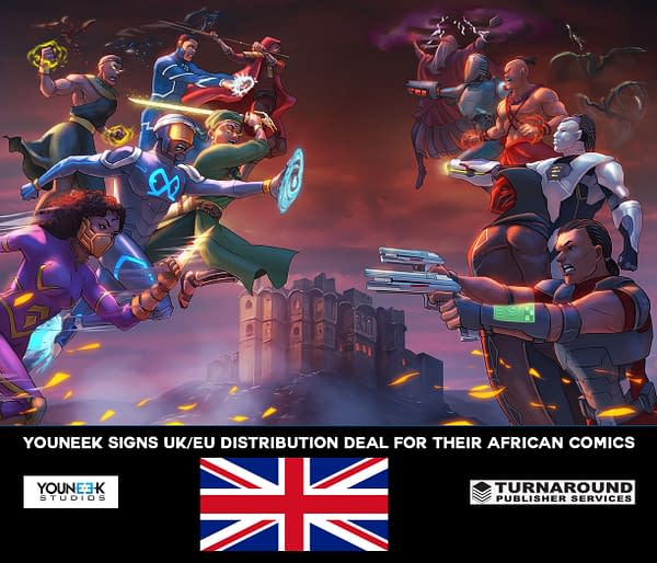 African American Superhero Comics 'YouNeek' Get UK/European Bookstore Distribution Deal