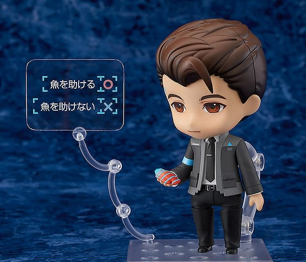 Detroit: Become Human Gets A Good Smile Nendoroid with Connor