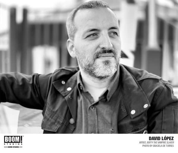 Buffy the Vampire Slayer Adds Artist David López for Top Secret New Story Arc