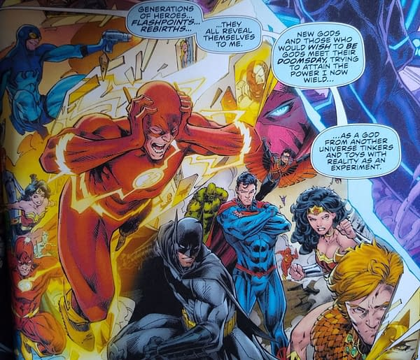 The Return of WildCATS and All the Delicious Contradictions Of The DC Timeline in Flash #750 (Spoilers)