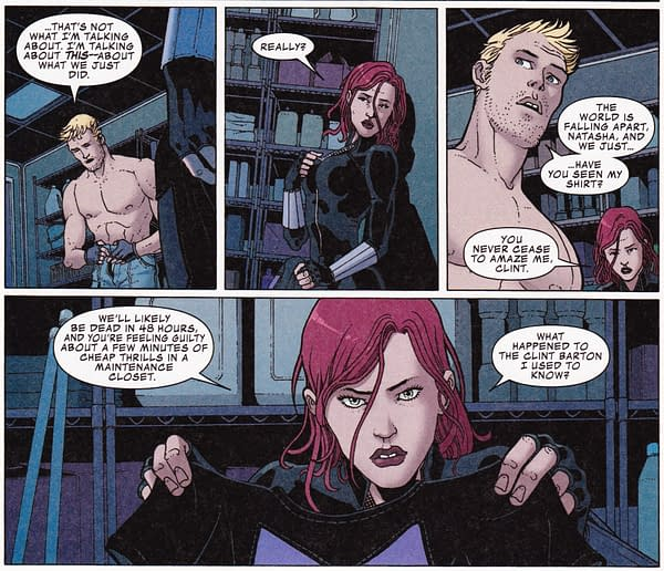 """So This Is Why They Call It """"The Mount"""" – Sex Lives Of The Superheroes In Occupy Avengers #8"""