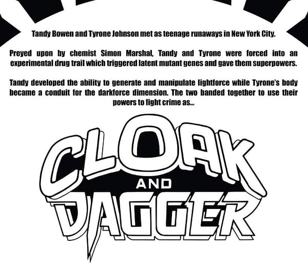 It Seems Cloak and Dagger are Mutants Again in Marvel Comics Continuity