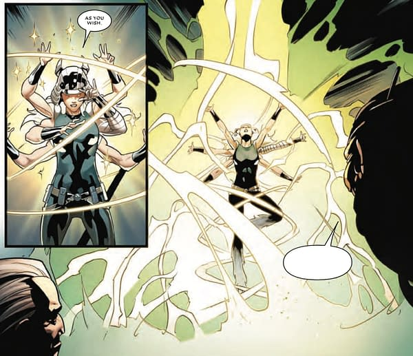 Is Spiral a Princess Bride Fan? Tomorrow's Mr. and Mrs. X #7