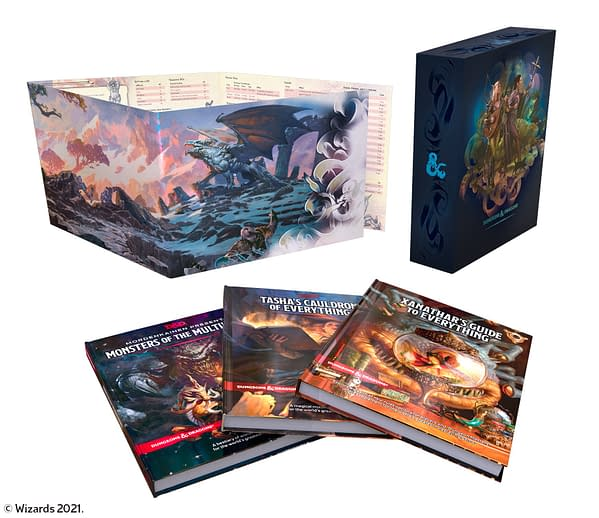 A look at the Dungeons & Dragons' Rules Expansion Gift Set, courtesy of Wizards of the Coast.