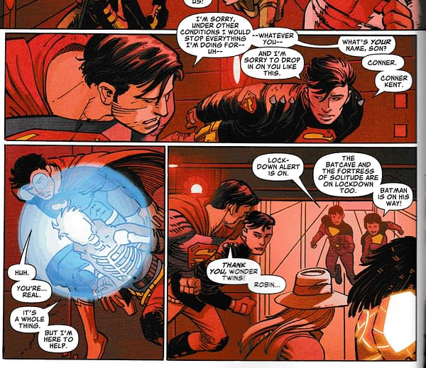 Connor Kent Meets Superman – and Superboy Prime (Spoilers)