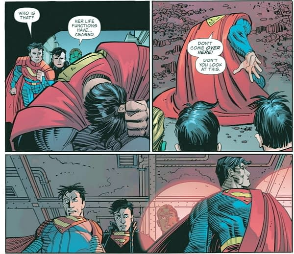 Is This What Might Tip Superman Into Leading The Authority?