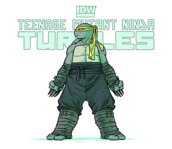 Sophie Campbell to Write and Draw TMNT After 100th Issue