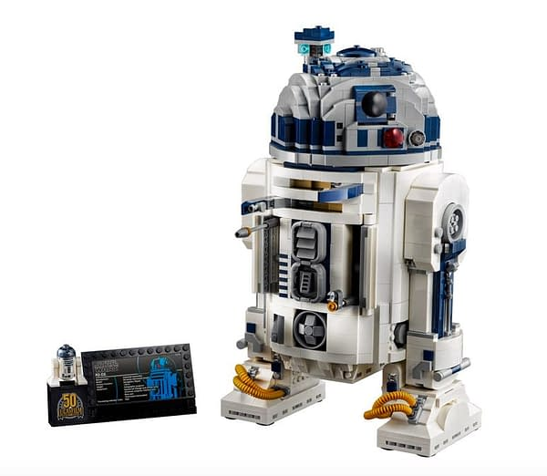 LEGO Celebrates Lucasfilm 50th Anniversary With New R2-D2 Set