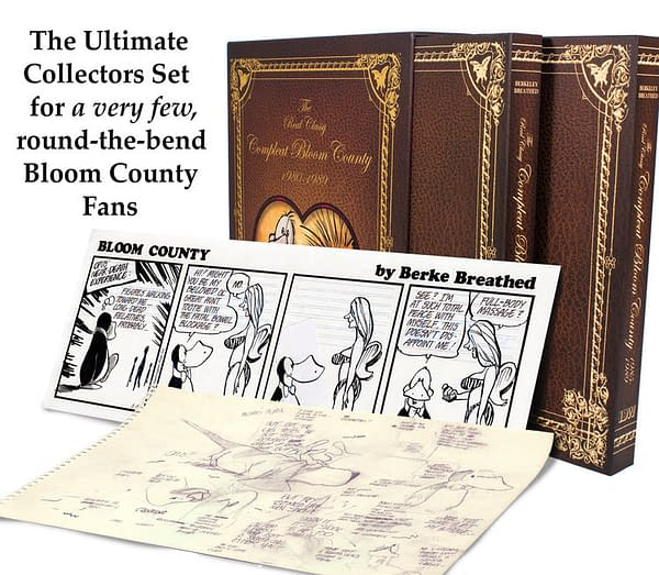 Berke Breathed's New Complete 'Bloom County' Set Costs $1200 – Here's Why