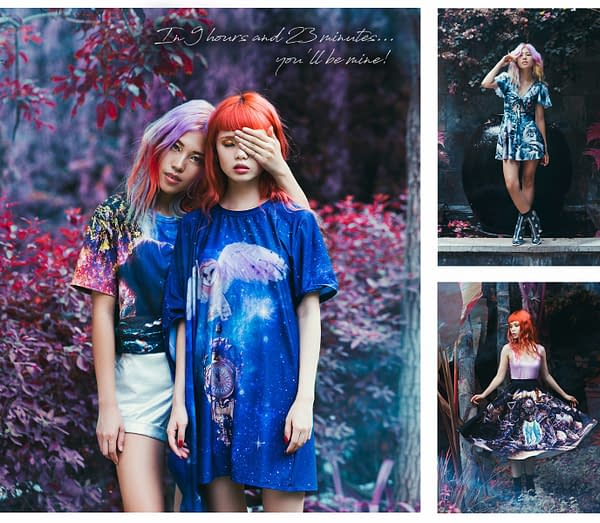 BlackMilk Clothing Releases Lookbook Of Upcoming Labyrinth Line