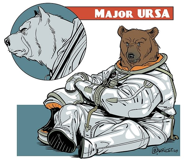 Cosby Writer/Producer Tyrone Finch Launches Major Ursa with Mauricet From Ahoy Comics