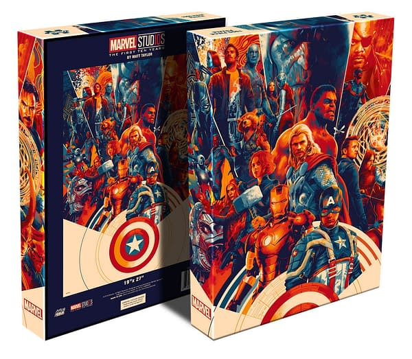 Mondo Selling MCU Puzzles, Announces First SDCC Exclusives
