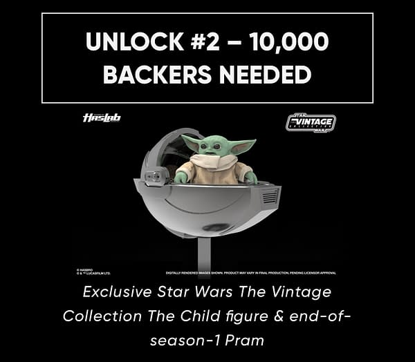 Star Wars The Child Getting Vintage Collection Figure for HasLabs