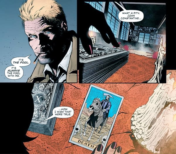 DC Cancelled John Constantine Again? Justice League Dark #27 Spoilers