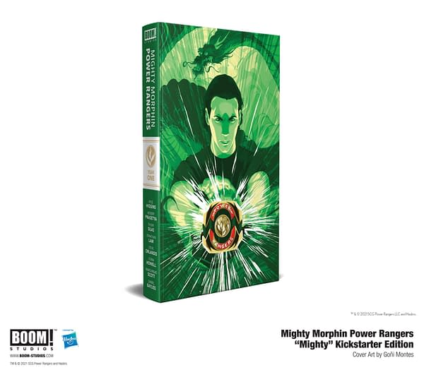 Boom Studios Launches A Mighty Morphin Second Kickstarter