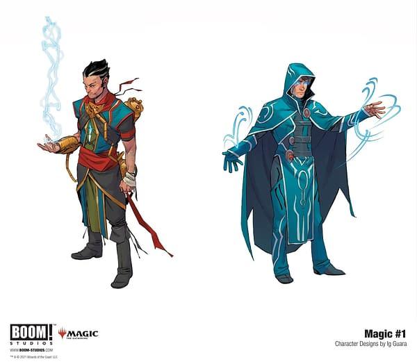 Boom Wins The License To Publish Magic: The Gathering Comics