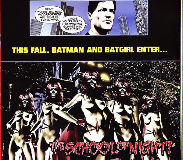 A Very Weird Looking Batman Inc #8 (SPOILERS)