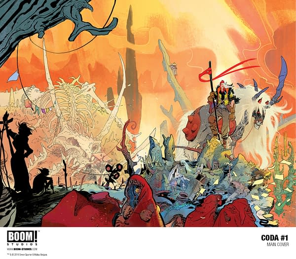 We're Gonna Groove with Simon Spurrier and Matías Bergara's Coda from BOOM! in May