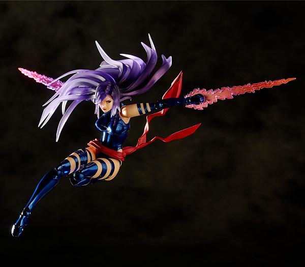 Revoltech Psylocke 9