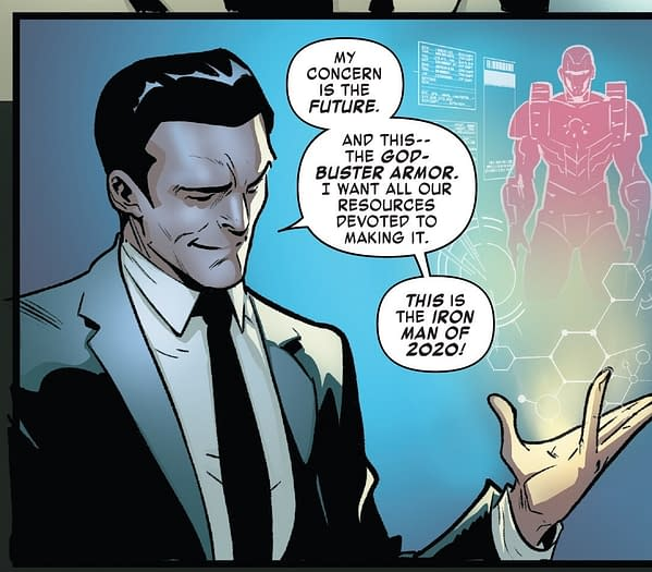 Drunk Tony, Arno Stark and Robotic Revolution – A Look Ahead and Back For This Wednesday's Iron Man 2020 #1 (Spoilers)
